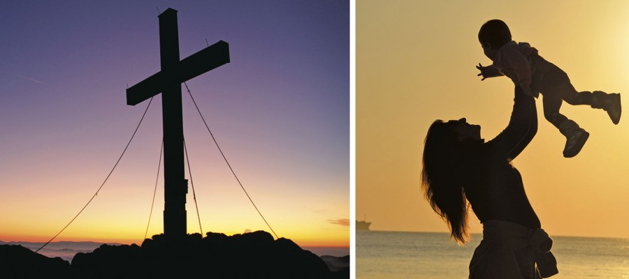 """""""Junto a la cruz  de Jesús estaba su madre»"""