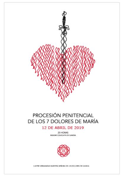 Los Dolores leídos solo por mujeres y la presencia de la Hermandad del Nazareno de Cullera, novedades de la procesión penitencial de este viernes
