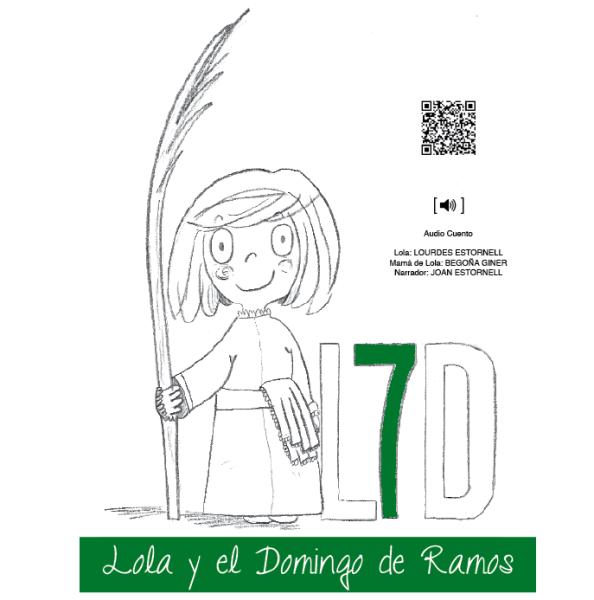 """Nuevo: Audiocuento """"Lola y el Domingo de Ramos"""""""