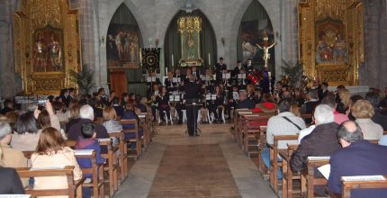 La Dolorosa recauda 1.176,58€ para Mozambique en el Concierto de Apertura de la Semana Santa de Gandia 2019
