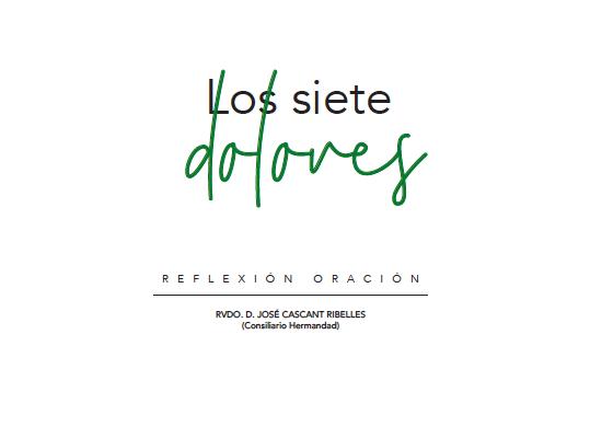 Los 7 Dolores de María 2019