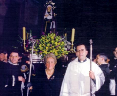 María Sanz, gracias por tu fe y alegría