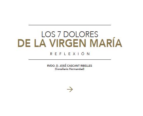 Los 7 Dolores de María 2020