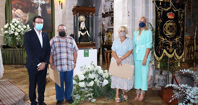 La Real e Ilustre Hermandad de la Dolorosa bendice su nueva imagen del siglo XVIII